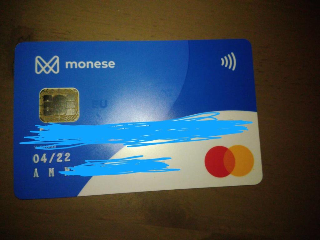 Oportunidade [Provado] Monese App - Ganha até 25€ (ganhei 160€) 61608210