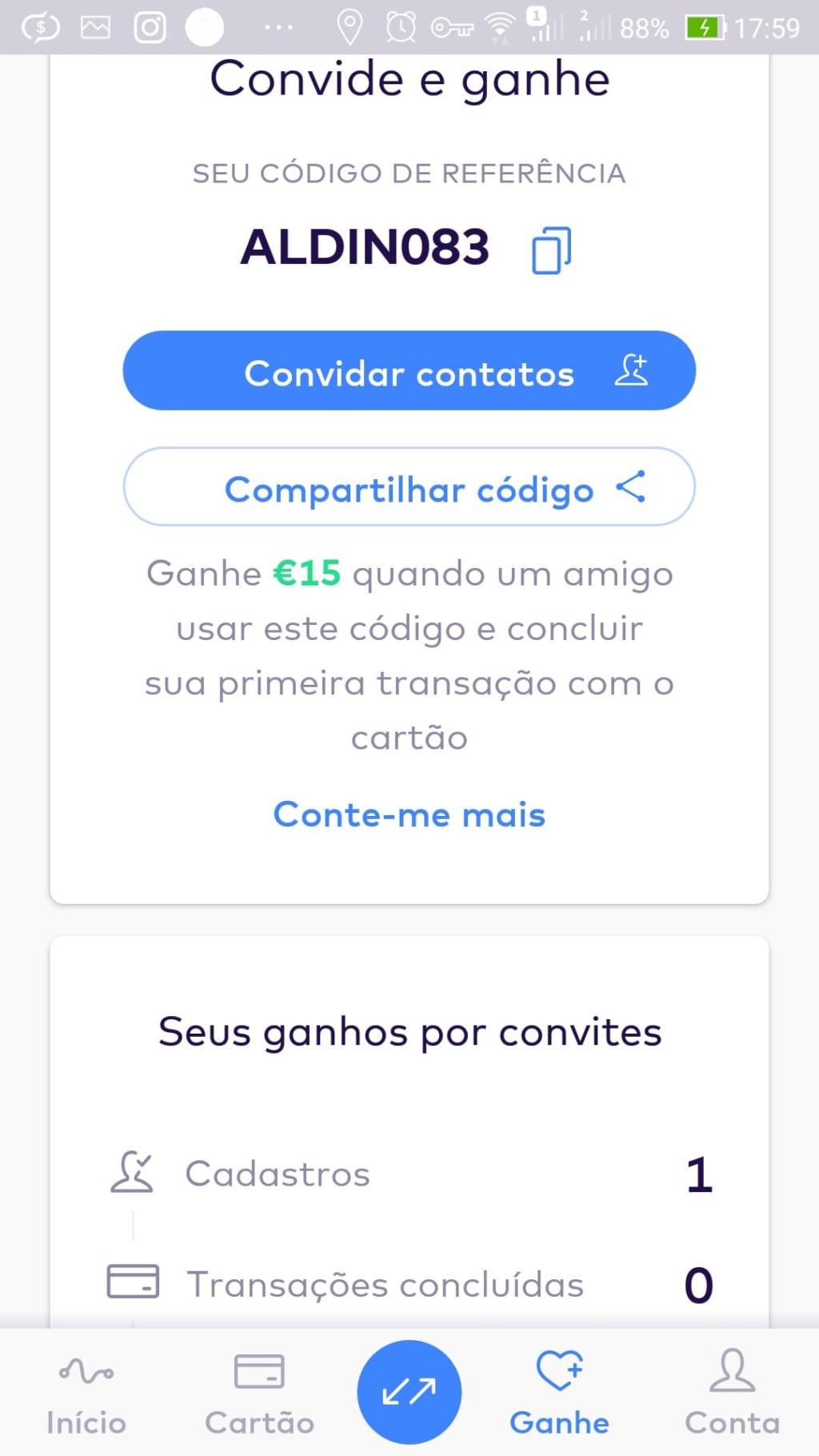 Oportunidade [Provado] Monese App - Ganha até 25€ (ganhei 160€) 61708910