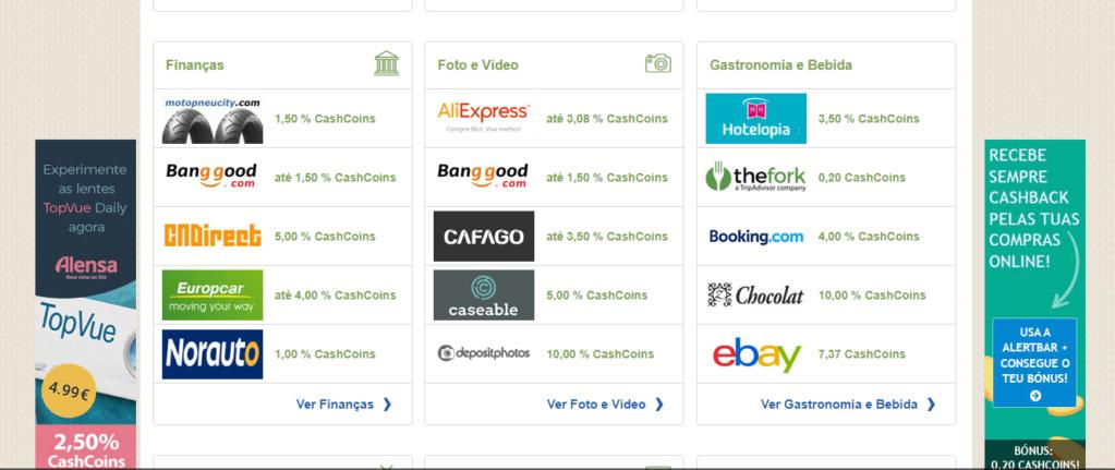 Oportunidade Cashbackdeals (Testar) Cashback de compras, ganha por ler emails, etc Dfffff10