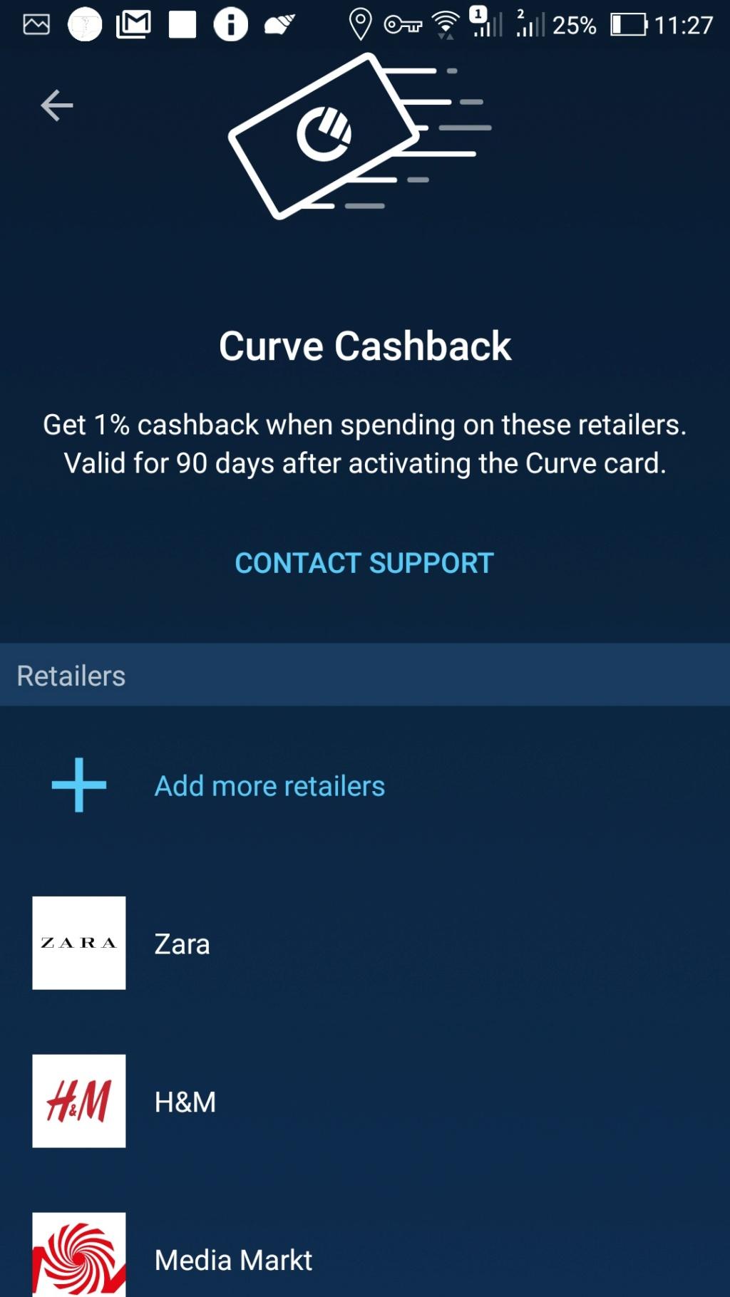 Oportunidade [Provado] Curve - Cartão all in one oferece + de 5€ Screen35
