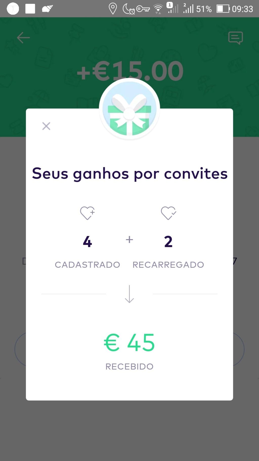 Oportunidade [Provado] Monese App - Ganha até 25€ (ganhei 160€) Screen44