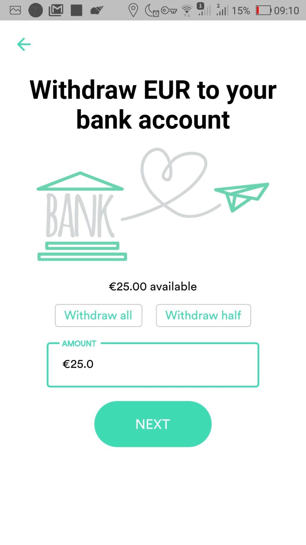 Oportunidade [Provado] Change - Ganha 10€ na tua primeira transacção - (ganhei 20€) Screen53