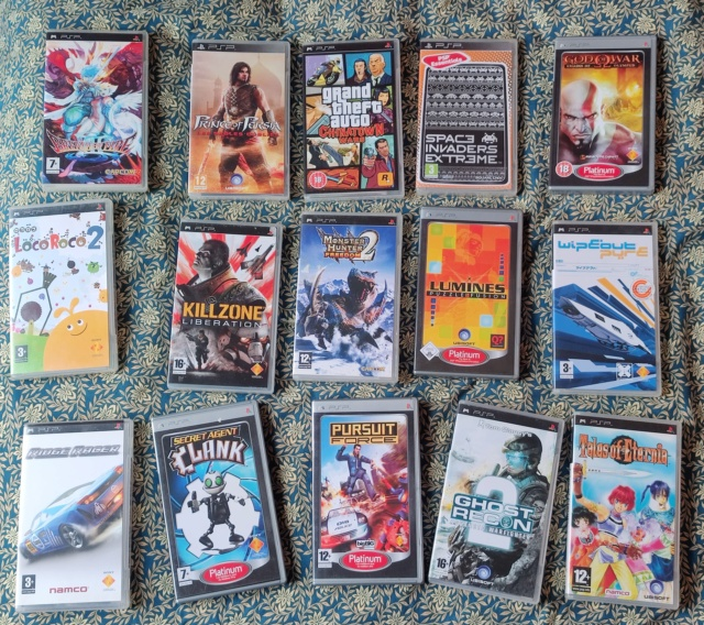 [VDS] vente multiplateforme (PSP, PS3, N64, gamecube & Dreamcast: shenmue  2 & code veronica) Img_2089