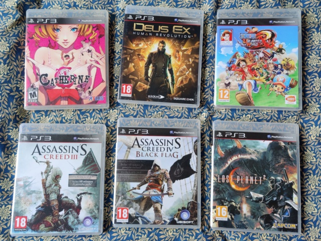 [VDS] vente multiplateforme (PSP, PS3, N64, gamecube & Dreamcast: shenmue  2 & code veronica) Img_2091
