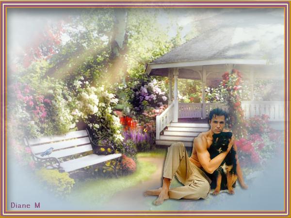 Défi / Homme avec chien Dzofih11