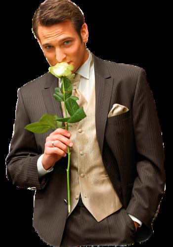 Défi du 25 SEPTEMBRE / Homme à la rose Mp22ao13