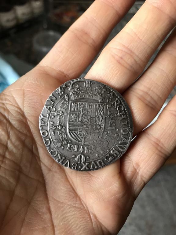 Patagón de Felipe IV de Brujas, 1645. Img_1514