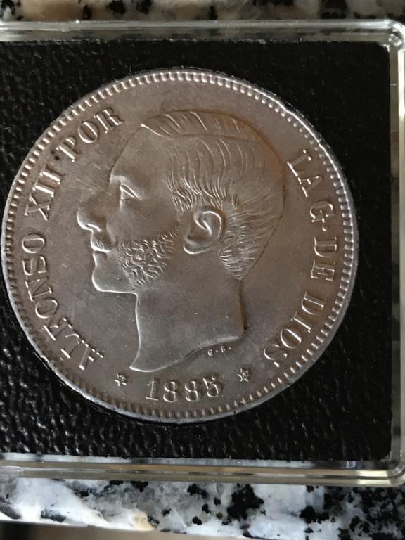 5 pesetas 1885 (*18-*87). Alfonso XII Img_3810