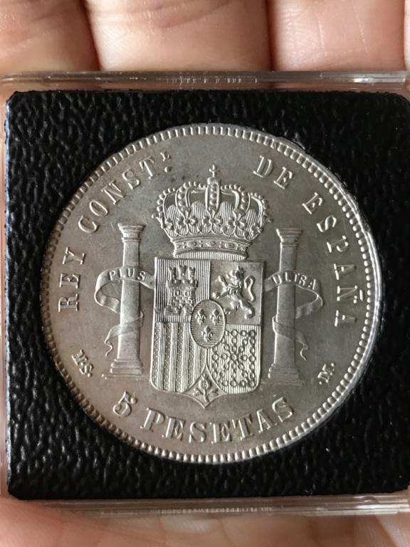 5 pesetas 1885 (*18-*87). Alfonso XII Img_3815