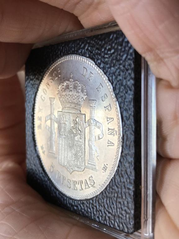 5 pesetas 1885 (*18-*87). Alfonso XII Img_3816