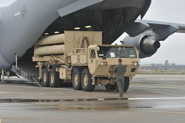 EEUU despliega bateria de misiles THAAD en Israel 20190324