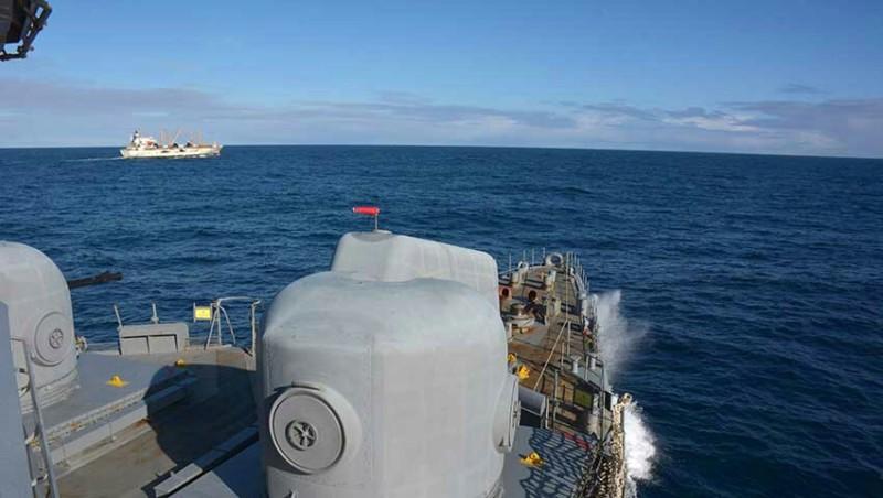 Unidades de la Armada Argentina efectuaron tareas de Vigilancia y Control de los Espacios Marítimos 20190624