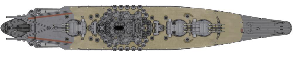 [Uchronie] IJN Yamato 1955 (Nichimo, Fujimi et scratch 1/200°) par habikitokay - Page 2 1920px10