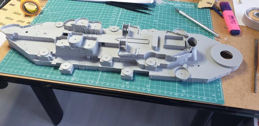 USS Missouri 1/200 de chez trumpeter 20200543
