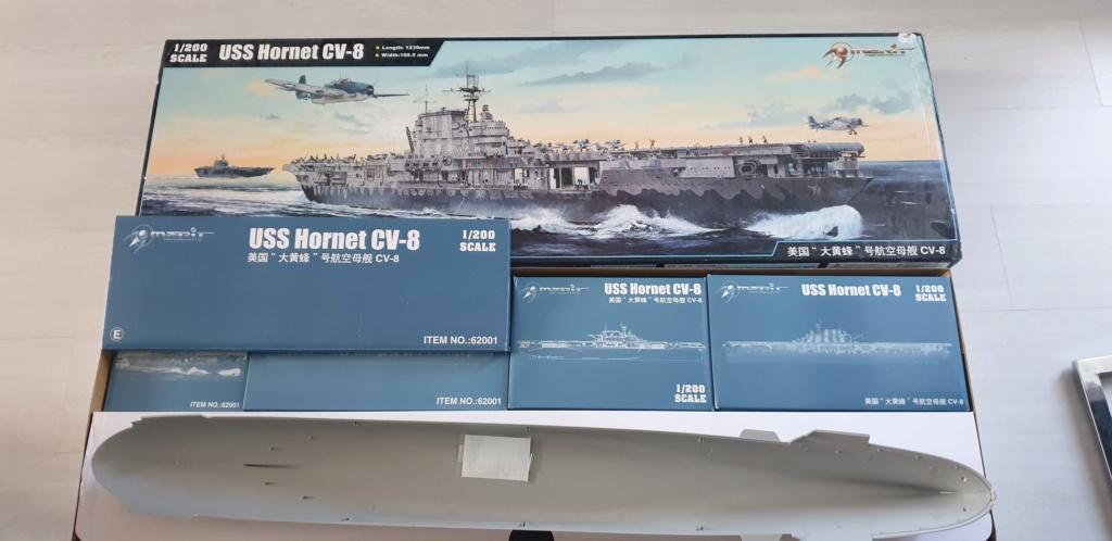 USS Hornet (Merite) + Photodecoupe et avions le tous en 1/200 20200544