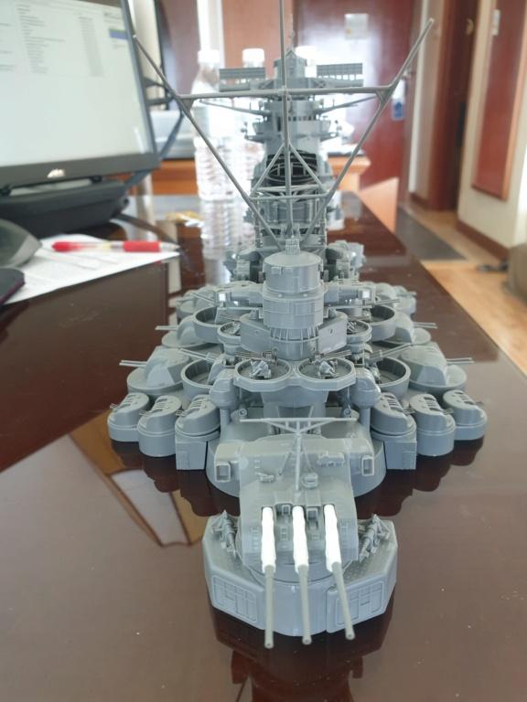 [Uchronie] IJN Yamato 1955 (Nichimo, Fujimi et scratch 1/200°) par habikitokay - Page 2 20200914