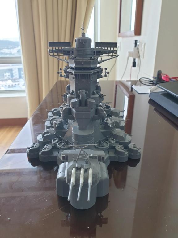 [Uchronie] IJN Yamato 1955 (Nichimo, Fujimi et scratch 1/200°) par habikitokay - Page 2 20200915