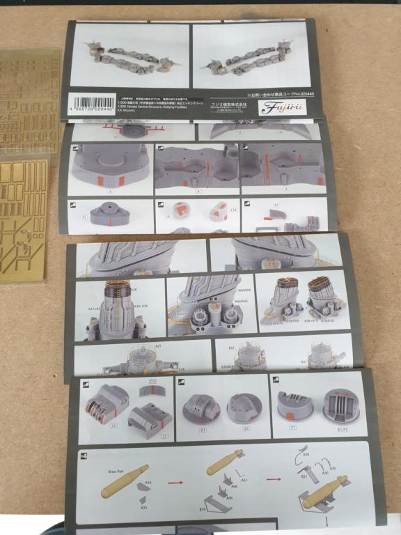[Uchronie] IJN Yamato 1955 (Nichimo, Fujimi et scratch 1/200°) par habikitokay - Page 4 20201014
