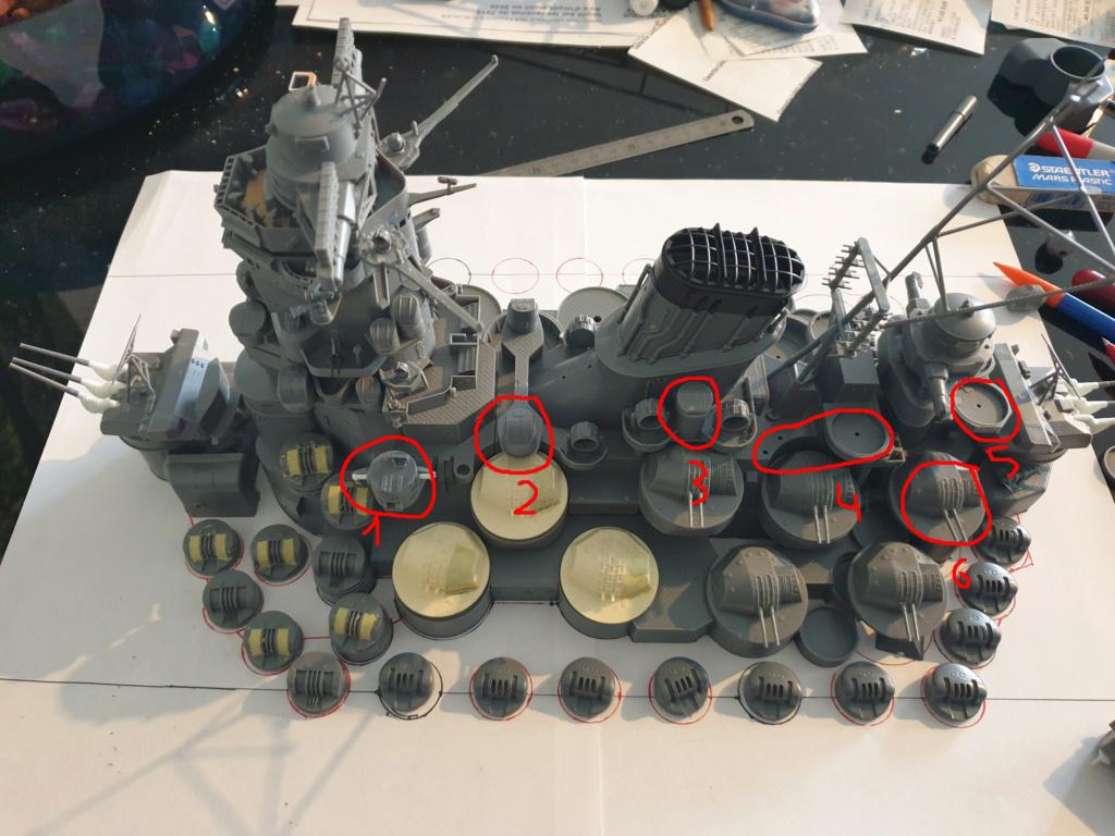 [Uchronie] IJN Yamato 1955 (Nichimo, Fujimi et scratch 1/200°) par habikitokay - Page 4 20201028