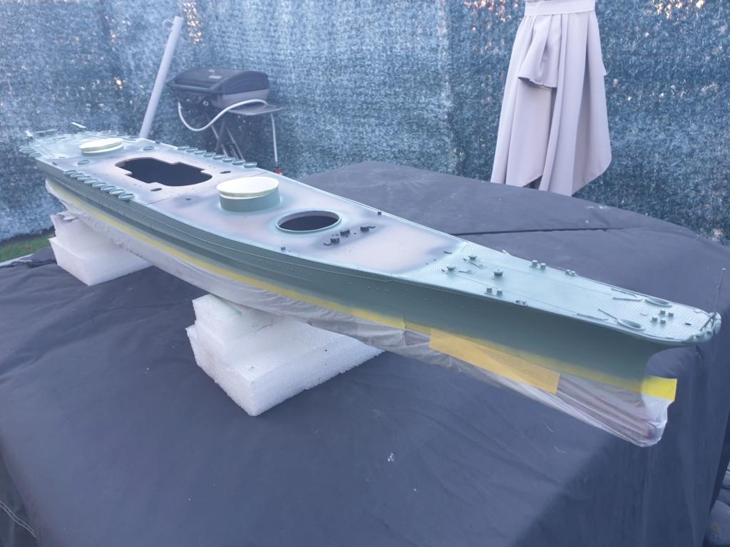 [Uchronie] IJN Yamato 1955 (Nichimo, Fujimi et scratch 1/200°) par habikitokay - Page 6 20201137