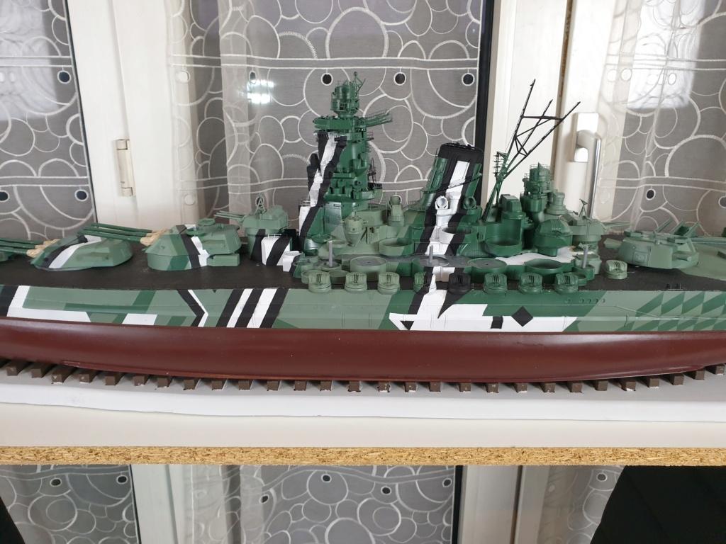 [Uchronie] IJN Yamato 1955 (Nichimo, Fujimi et scratch 1/200°) par habikitokay - Page 10 20201236