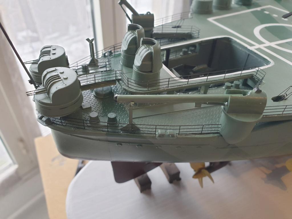 [Uchronie] IJN Yamato 1955 (Nichimo, Fujimi et scratch 1/200°) par habikitokay - Page 12 20210134