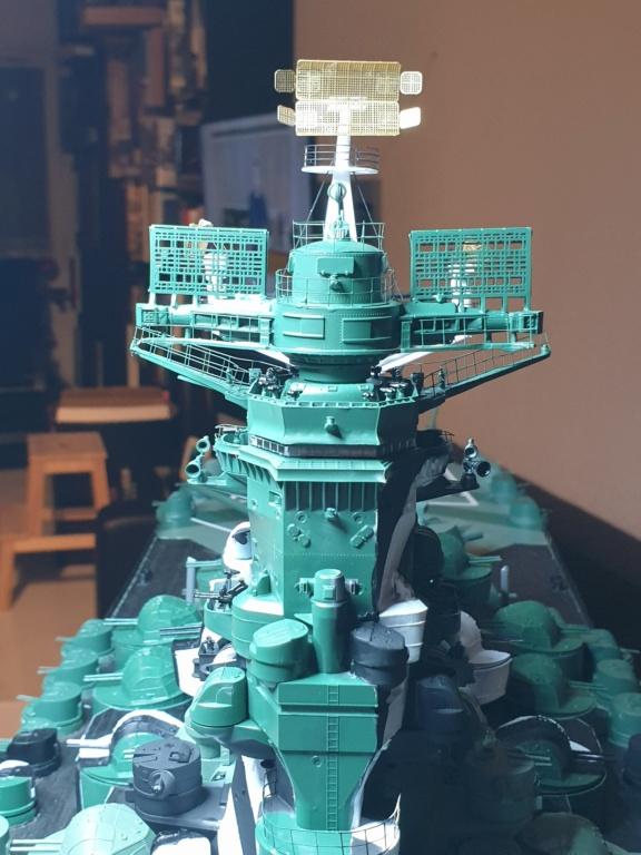 [Uchronie] IJN Yamato 1955 (Nichimo, Fujimi et scratch 1/200°) par habikitokay - Page 12 20210143