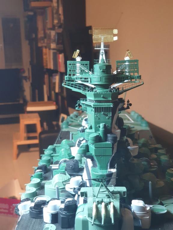 [Uchronie] IJN Yamato 1955 (Nichimo, Fujimi et scratch 1/200°) par habikitokay - Page 12 20210145