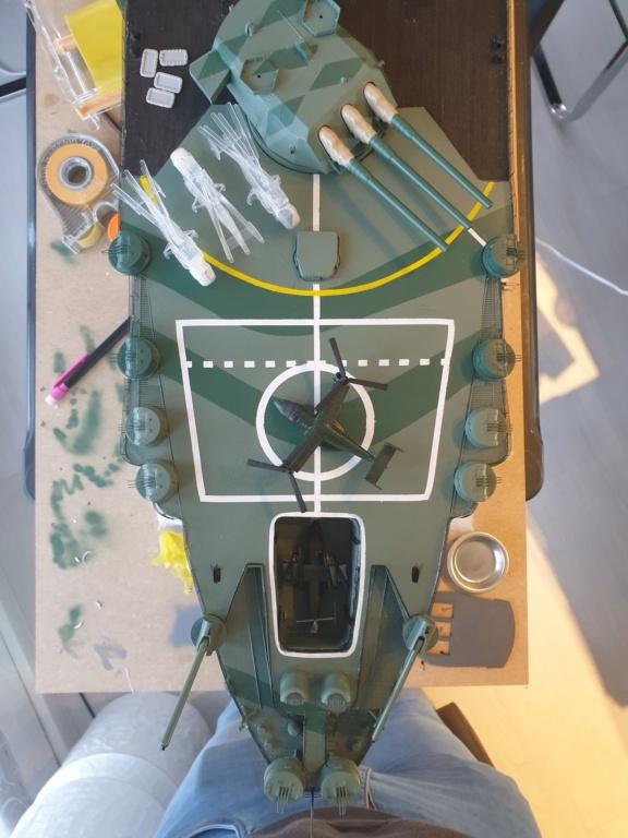 [Uchronie] IJN Yamato 1955 (Nichimo, Fujimi et scratch 1/200°) par habikitokay - Page 12 20210146