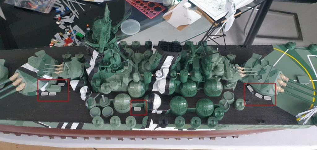 [Uchronie] IJN Yamato 1955 (Nichimo, Fujimi et scratch 1/200°) par habikitokay - Page 13 20210152