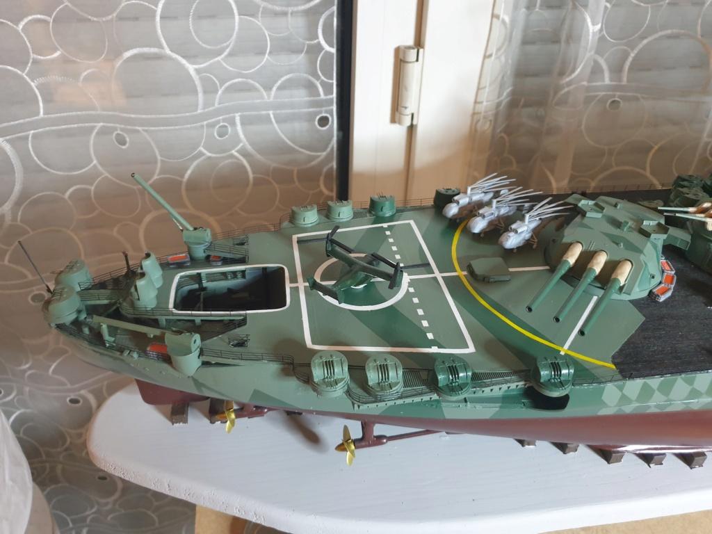 [Uchronie] IJN Yamato 1955 (Nichimo, Fujimi et scratch 1/200°) par habikitokay - Page 13 20210155