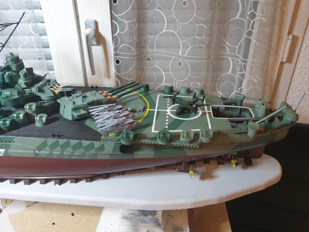 [Uchronie] IJN Yamato 1955 (Nichimo, Fujimi et scratch 1/200°) par habikitokay - Page 13 20210159