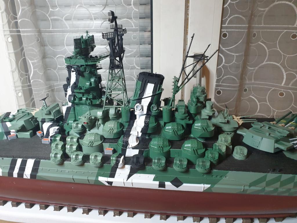 [Uchronie] IJN Yamato 1955 (Nichimo, Fujimi et scratch 1/200°) par habikitokay - Page 13 20210160