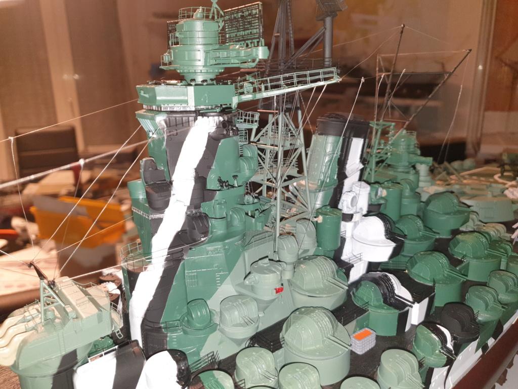 [Uchronie] IJN Yamato 1955 (Nichimo, Fujimi et scratch 1/200°) par habikitokay - Page 13 20210166