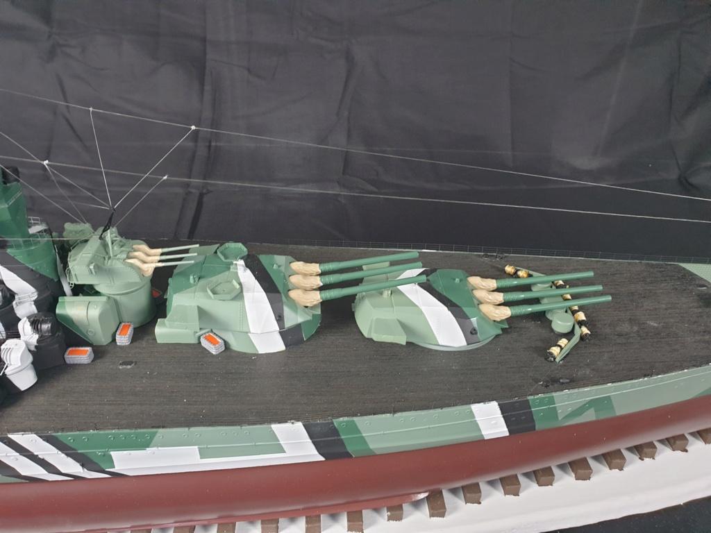 [Uchronie] IJN Yamato 1955 (Nichimo, Fujimi et scratch 1/200°) par habikitokay - Page 13 20210171
