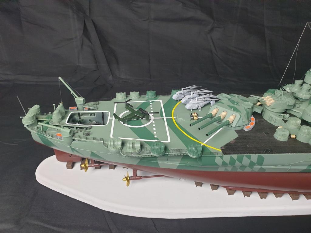 [Uchronie] IJN Yamato 1955 (Nichimo, Fujimi et scratch 1/200°) par habikitokay - Page 13 20210172