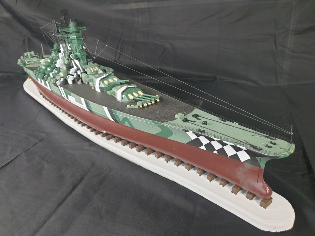 [Uchronie] IJN Yamato 1955 (Nichimo, Fujimi et scratch 1/200°) par habikitokay - Page 13 20210175