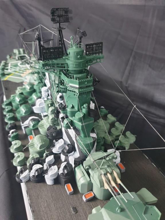 [Uchronie] IJN Yamato 1955 (Nichimo, Fujimi et scratch 1/200°) par habikitokay - Page 13 20210176