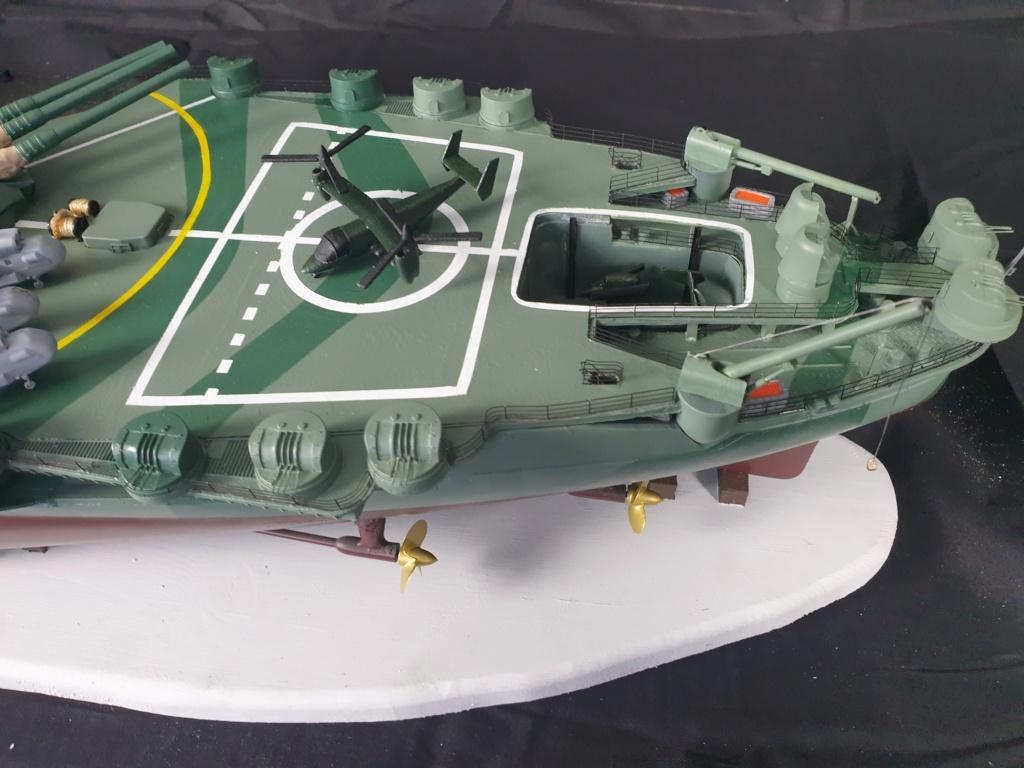 [Uchronie] IJN Yamato 1955 (Nichimo, Fujimi et scratch 1/200°) par habikitokay - Page 13 20210177