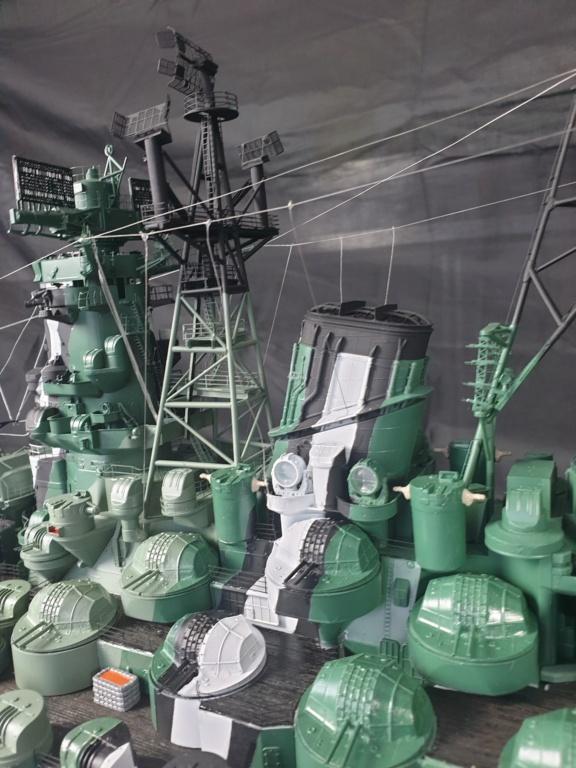 [Uchronie] IJN Yamato 1955 (Nichimo, Fujimi et scratch 1/200°) par habikitokay - Page 13 20210181