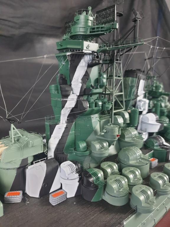 [Uchronie] IJN Yamato 1955 (Nichimo, Fujimi et scratch 1/200°) par habikitokay - Page 13 20210182