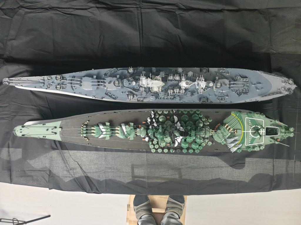 [Uchronie] IJN Yamato 1955 (Nichimo, Fujimi et scratch 1/200°) par habikitokay - Page 13 20210183