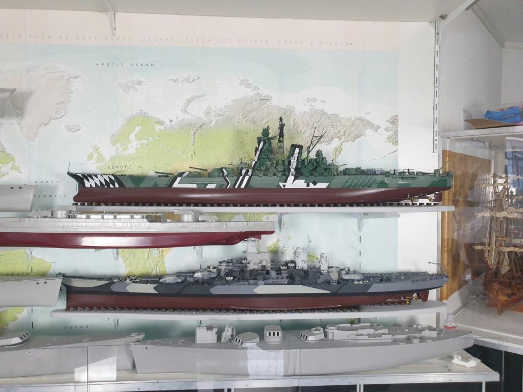 [Uchronie] IJN Yamato 1955 (Nichimo, Fujimi et scratch 1/200°) par habikitokay - Page 13 20210184