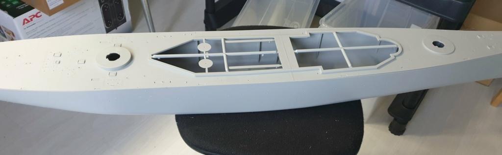 [Uchronie] USS Lake Michigan (base Iowa Trumpeter 1/200°) par hibikitokay 20210311