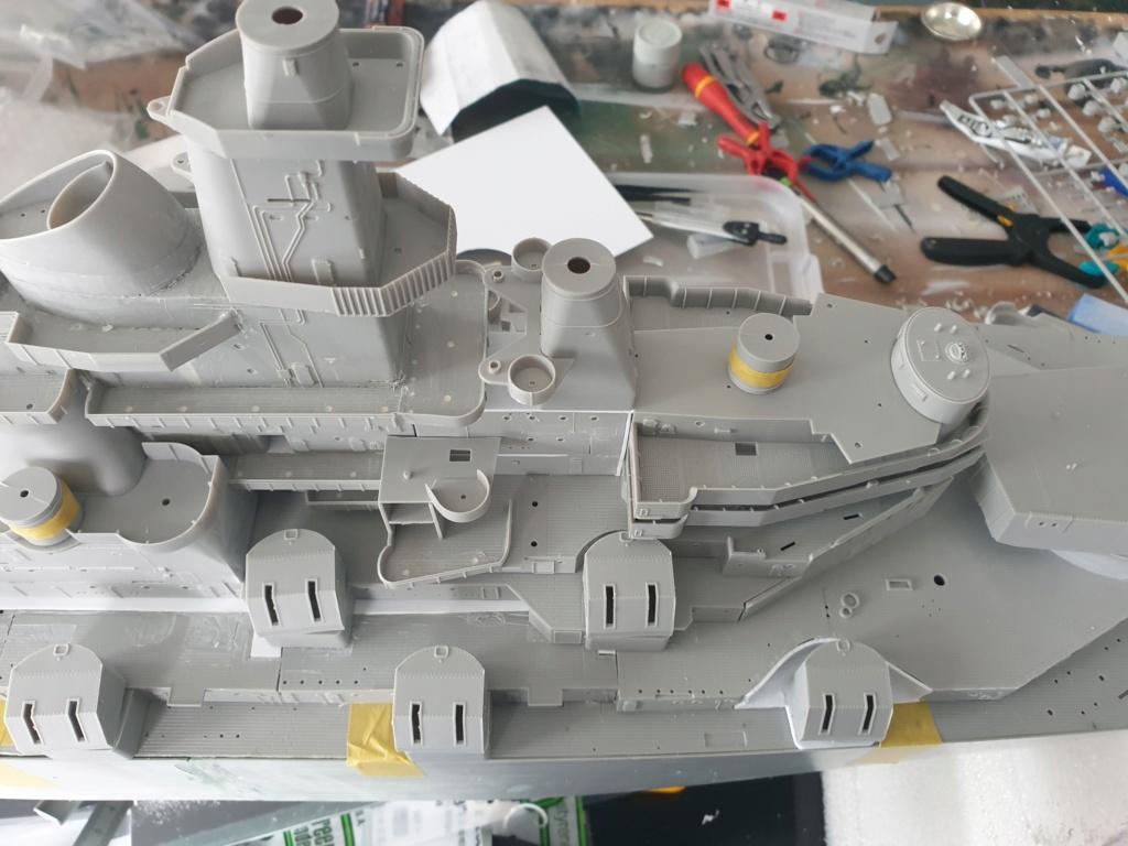 [Uchronie] USS Lake Michigan (base Iowa Trumpeter 1/200°) par hibikitokay - Page 3 20210447