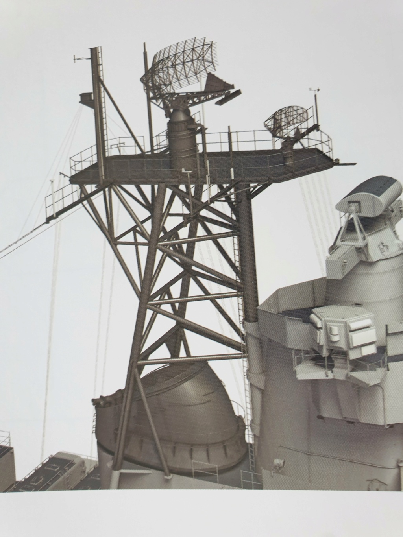 [Uchronie] USS Lake Michigan (base Iowa Trumpeter 1/200°) par hibikitokay - Page 3 20210451