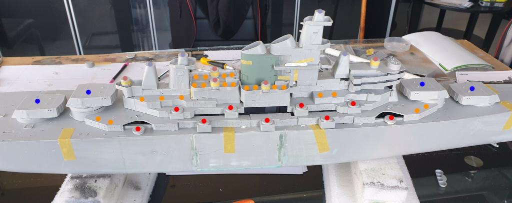 [Uchronie] USS Lake Michigan (base Iowa Trumpeter 1/200°) par hibikitokay - Page 4 20210459
