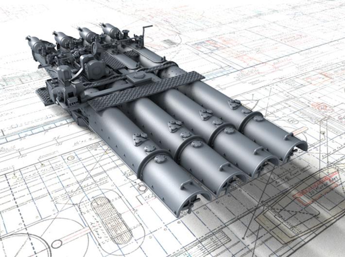 [Uchronie] USS Lake Michigan (base Iowa Trumpeter 1/200°) par hibikitokay 710x5210
