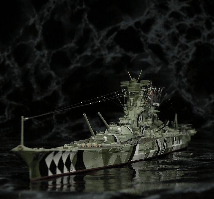 IJN Yamato au 1/200 de chez Nichimo et Fujimi Camgri12