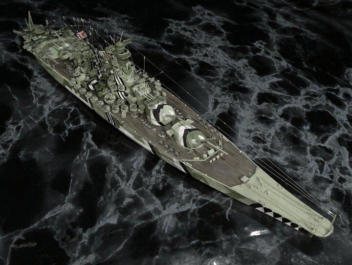 [Uchronie] IJN Yamato 1955 (Nichimo, Fujimi et scratch 1/200°) par habikitokay - Page 3 Camgri13